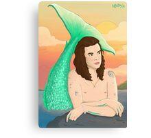 Harry Styles Merman/Mermaid Canvas Print