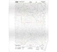 USGS Topo Map Oregon Prairie Hill 20110727 TM Poster