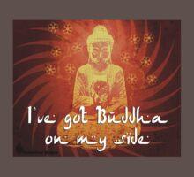 Buddha on my side by mancerbear