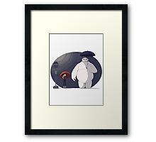 Big Hero 6 Totoro Framed Print
