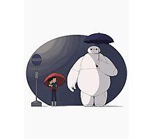 Big Hero 6 Totoro Photographic Print