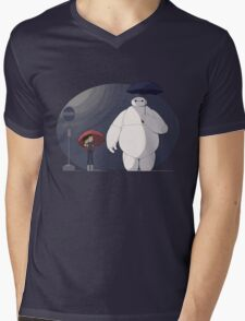 Big Hero 6 Totoro Mens V-Neck T-Shirt
