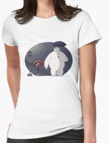 Big Hero 6 Totoro Womens Fitted T-Shirt