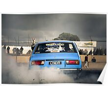 LYNCHY Burn Out Poster