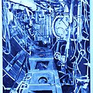 The Engine Room of a Gearing Class Destroyer by David M Scott