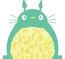 Totoro Ghibli by dannyaasgard