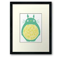 Totoro Ghibli Framed Print