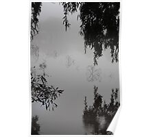 That foggy morning II, Goldfields Reservoir Poster