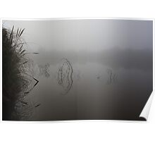 That foggy morning III, Goldfields Reservoir Poster