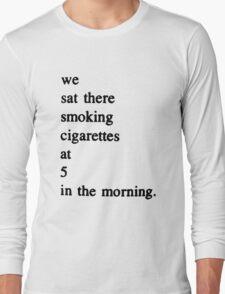 Charles Bukowski Quotes Long Sleeve T-Shirt