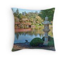 Japanese Garden, Dubbo, NSW Throw Pillow