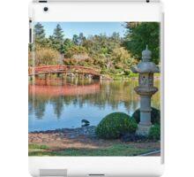 Japanese Garden, Dubbo, NSW iPad Case/Skin