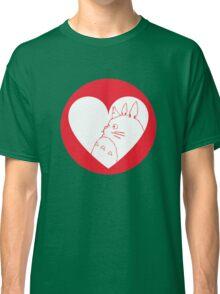 My Neighbour Totoro Heart Classic T-Shirt