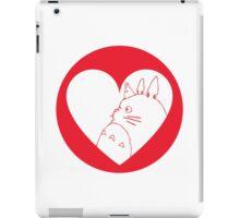 My Neighbour Totoro Heart iPad Case/Skin