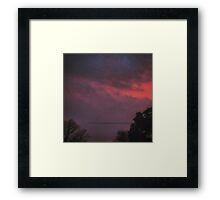 Clouds of Love Framed Print