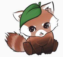 Cute Red Panda by Dumpling