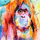 Orangutan  by Slaveika Aladjova