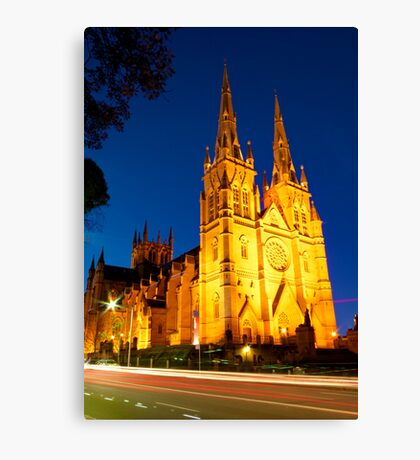 St Mary's Cathedral Canvas Print