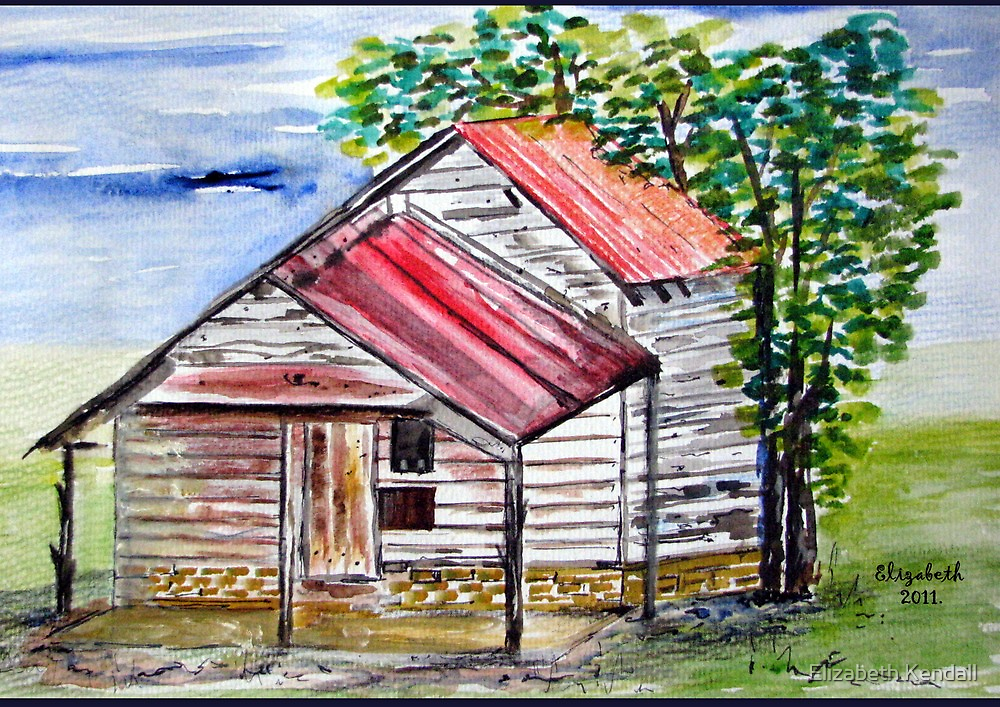 A little shack in Alabama by Elizabeth Kendall