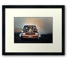 GEMSKID Bairnsdale Dragway Burnout. Framed Print