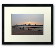 Sky over Gotham Framed Print
