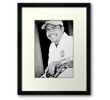 Banito Albano da Silva - Timor-Leste 2005 Framed Print
