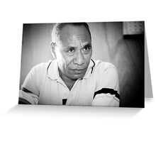 Dr Lucas da Costa - Timor-Leste 2005 Greeting Card