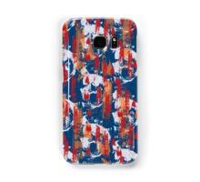 Colourful brush marks Samsung Galaxy Case/Skin