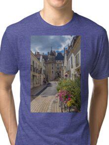 France. Langeais. Château de Langeais. Tri-blend T-Shirt