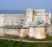 Crac des Chevaliers, Homs, Syria by Justine Wright