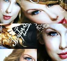 Taylor Swift collage by Laura Sykes