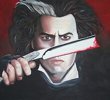 Sweeney Todd - Johnny Depp by Sharyn Kimpton