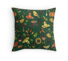 Bright autumn Throw Pillow