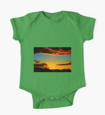 HDR Sunset One Piece - Short Sleeve