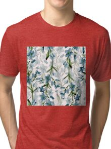 Blue branches Tri-blend T-Shirt