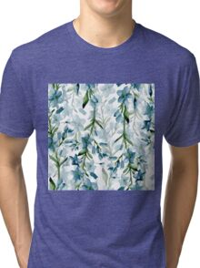 Blue branches Tri-blend T-Shirt