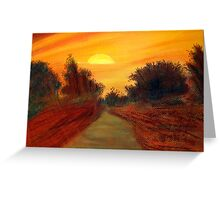 Beauty of Sunrise Greeting Card
