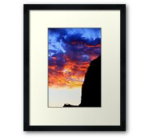 HDR Colours at the Henge Framed Print