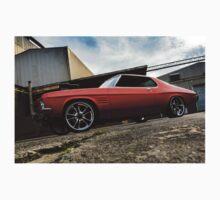 MRBADQ - Aussie Muscle Burnout Car Kids Tee