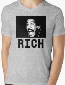 Rich-P Mens V-Neck T-Shirt