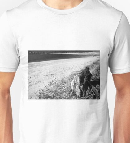 follow the lines in the sand Unisex T-Shirt