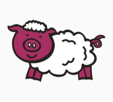 Piggysheep design for clothing Kids Clothes