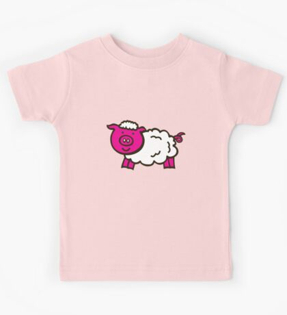Piggysheep design for clothing Kids Tee