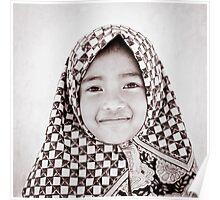 Little Malay Muslim girl Poster