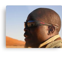 Namibian Guide Metal Print