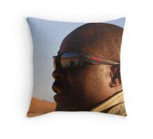 Namibian Guide Throw Pillow