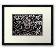 Sketch for Metamorphosis I Framed Print