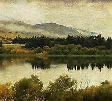 Autumn on the Lake by Margi