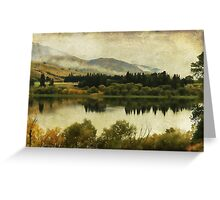 Autumn on the Lake Greeting Card