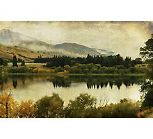 Autumn on the Lake Photographic Print